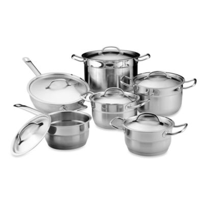 BergHOFF® Hotel 12-Piece Stainless Steel Cookware Set