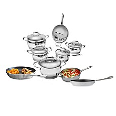 BergHOFF® Zeno Stainless Steel 12-Piece Cookware Set and Open Stock