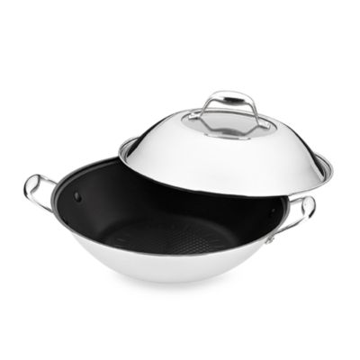 BergHOFF® Zeno Non-Stick 5-Quart Covered Wok