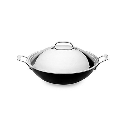 BergHOFF® EarthChef Acadian 14.25-Inch Non-stick Covered Wok