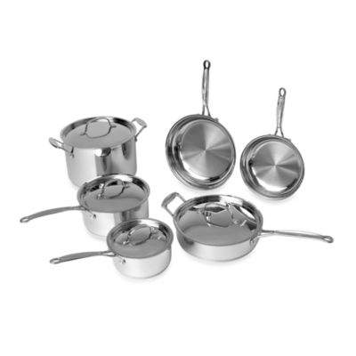 BergHOFF® Earthchef 10-Piece Premium Copper Clad Cookware