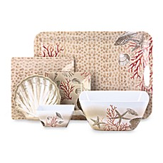 Under The Sea Melamine Square Dinnerware