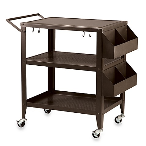 Three-Shelf BBQ Cart