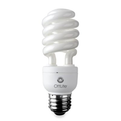OttLite® High Definition 15-Watt Edison CFL Swirl Bulb