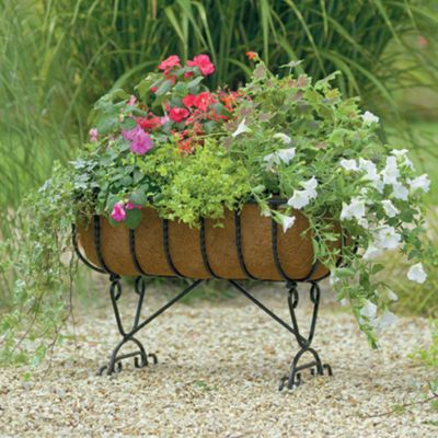 Gardman Blacksmith 24-Inch Cradle Planter