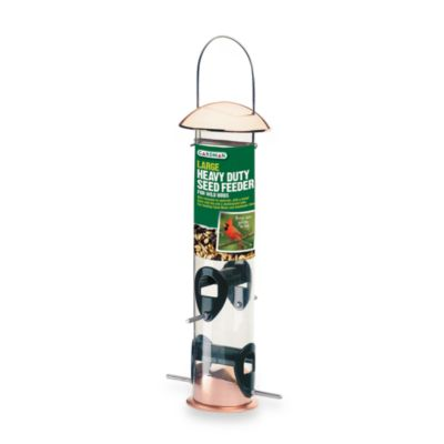 Gardman Large Heavy Duty Copper Seed Feeder in 12-Inch H