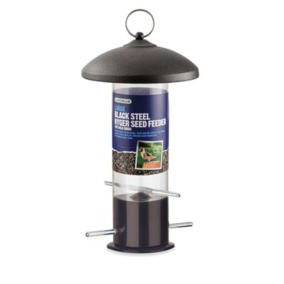 Gardman Giant Black Steel Nyjer® Seed Feeder