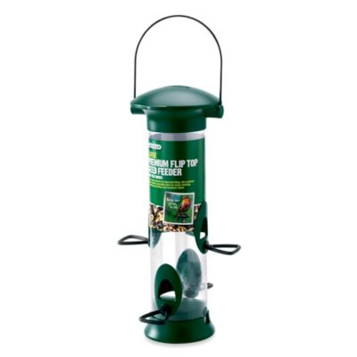Gardman Premium Large Flip Top Feeder in 12-Inch H