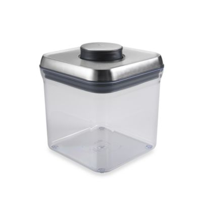 OXO SteeL® 2.4-Quart POP Square Food Storage Container