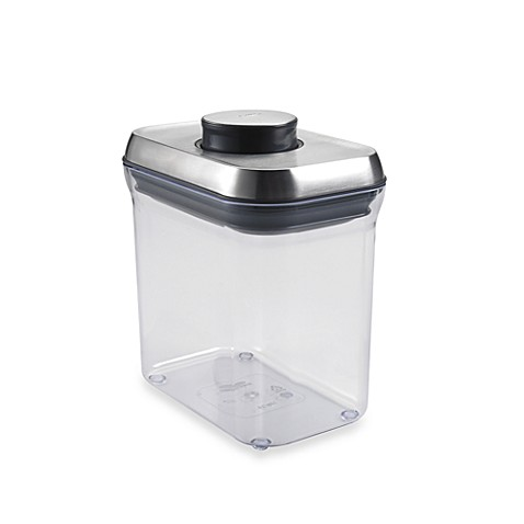 Buy Oxo Steel 174 Pop 1 5 Quart Rectangular Food Storage