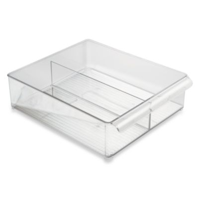 Interdesign® Fridge Binz™ Divided Deep Tray in 12-Inch W x 15-Inch D