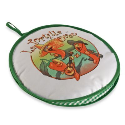 La Tortilla Oven™ 10-Inch Tortilla Warmer in Singing Chili Peppers