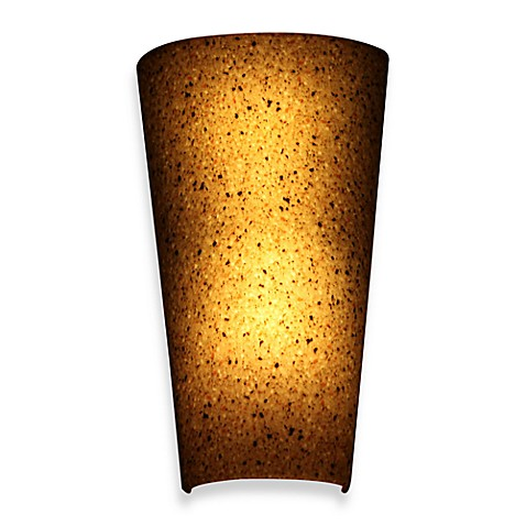 It 39 s exciting lighting battery powered led wall sconce bed bath beyond - Battery operated wall light sconces ...