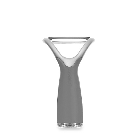Art and Cook Zinc Positive Collection Y Peeler in Gray