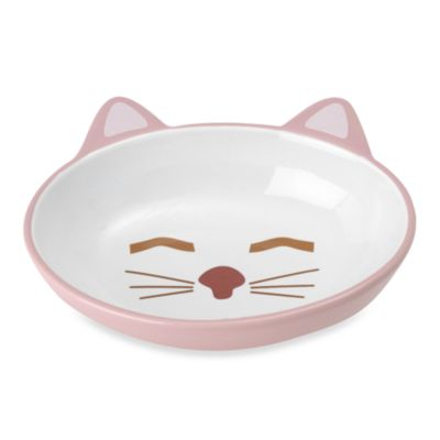 PetRageous® Here Kitty Stoneware Pet Bowl