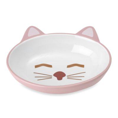 PetRageous® Here Kitty Stoneware Pet Bowl