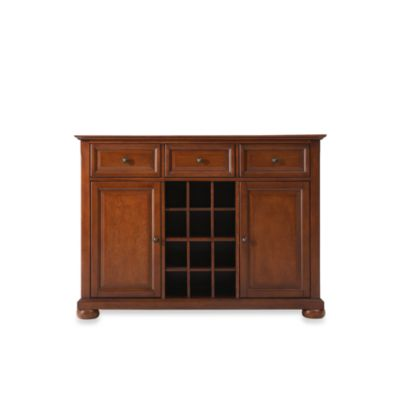 Crosley Alexandria Buffet Server/Sideboard Cabinet in Classic Cherry