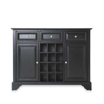 Crosley LaFayette Buffet Server/Sideboard Cabinet in Black