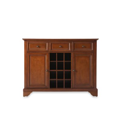Crosley LaFayette Buffet Server/Sideboard Cabinet in Classic Cherry
