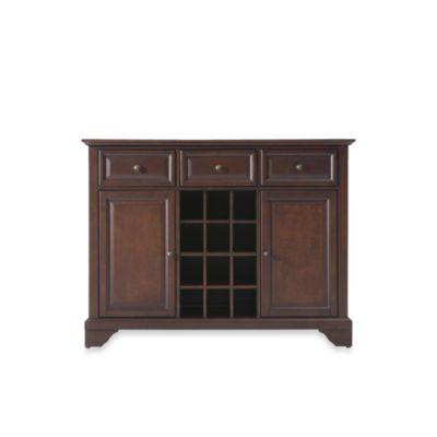 Crosley LaFayette Buffet Server/Sideboard Cabinet in Vintage Mahogany