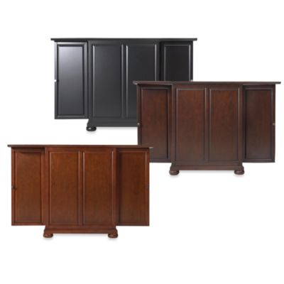 Crosley Alexandria Expandable Bar Cabinet