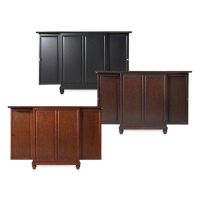 Crosley Cambridge Expandable Bar Cabinet