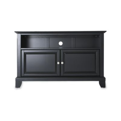 Crosley Newport 42-Inch TV Stand in Black