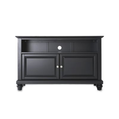 Crosley Cambridge 42-Inch TV Stand in Black