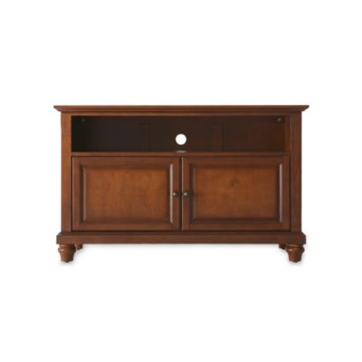 Crosley Cambridge 42-Inch TV Stand in Mahogany