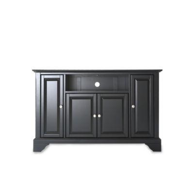 Crosley LaFayette 48-Inch TV Stand in Black