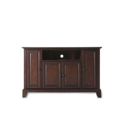 Crosley Newport 48-Inch TV Stand in Mahogany
