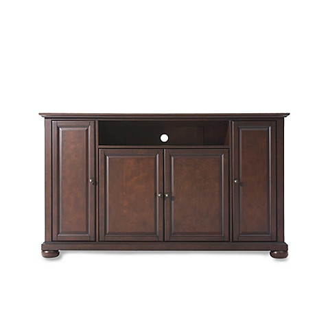 buy crosley alexandria 60 inch tv stand in mahogany from bed bath beyond. Black Bedroom Furniture Sets. Home Design Ideas
