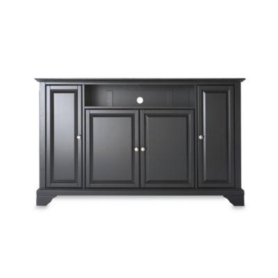 Crosley Newport 60-Inch TV Stand in Black