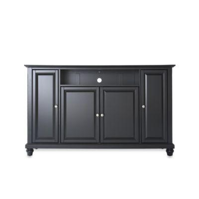 Crosley Cambridge 60-Inch TV Stand in Black