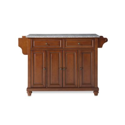 Cambridge Granite Top Kitchen Island