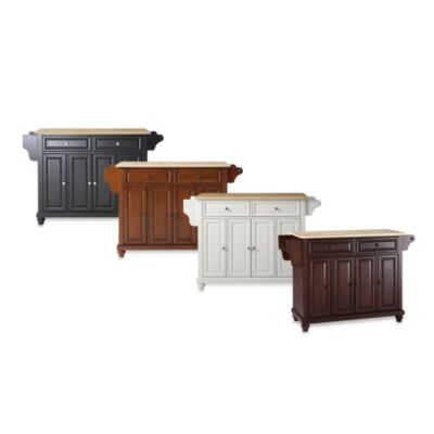 Crosley Cambridge Wood Top Kitchen Island