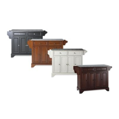 Crosley LaFayette Granite Top Kitchen Island