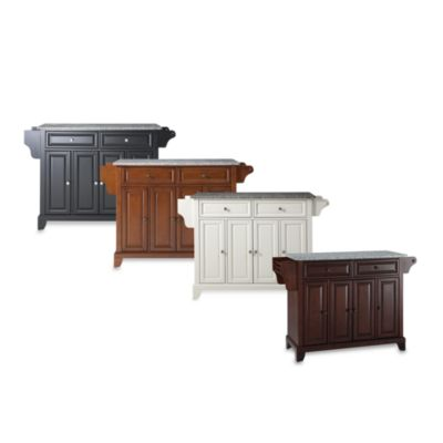 Newport Granite Top Kitchen Island