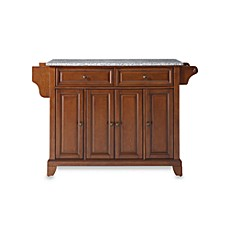 Crosley Newport Granite Top Kitchen Island