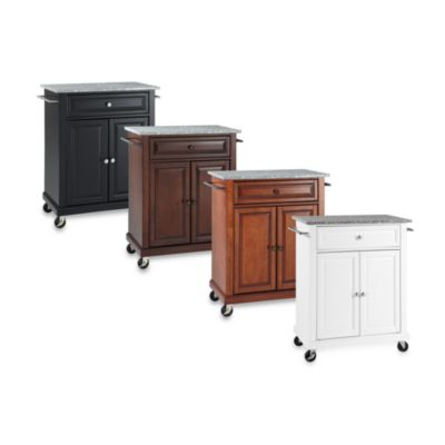 Crosley Granite Top Portable Kitchen Cart/Island