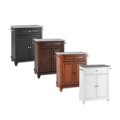 Cambridge Granite Top Portable Kitchen Island