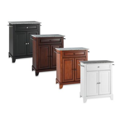 Crosley Newport Granite Top Portable Kitchen Island