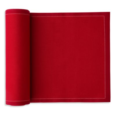 Mydrap Tear-Off Disposable Cotton Placemats in Red (12 Units)