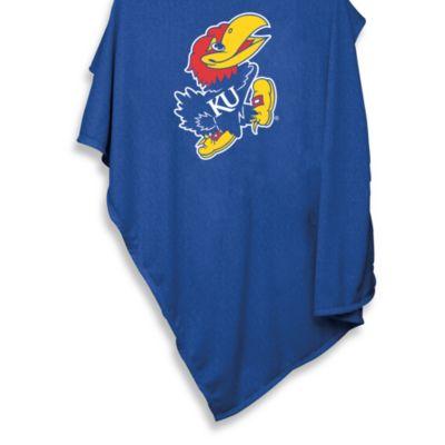 University of Kansas Sweatshirt Blanket