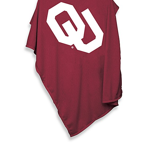 University of Oklahoma 54-Inch x 84-Inch Sweatshirt Throw Blanket
