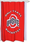 Ohio State University 71-Inch x 71-Inch Shower Curtain