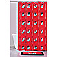 University of Georgia 71-Inch x 71-Inch Shower Curtain