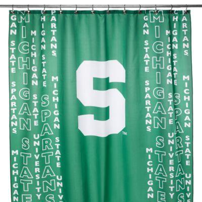 Michigan State University 71-Inch x 71-Inch Shower Curtain