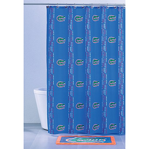 University of Florida 71-Inch x 71-Inch Shower Curtain