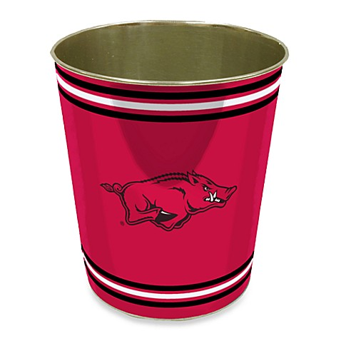 University of Arkansas Trash Can